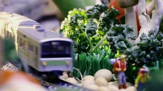 サントリー「ザ・モルツ」アプリイメージムービー「俺鉄の旅?食卓絶景?」映像