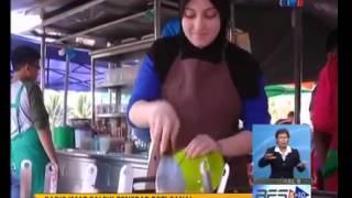 Alor Setar Malaysia  city images : Gadis cun Itali penebar roti canai di Alor Setar Kedah (Viral Video Malaysia 2015)