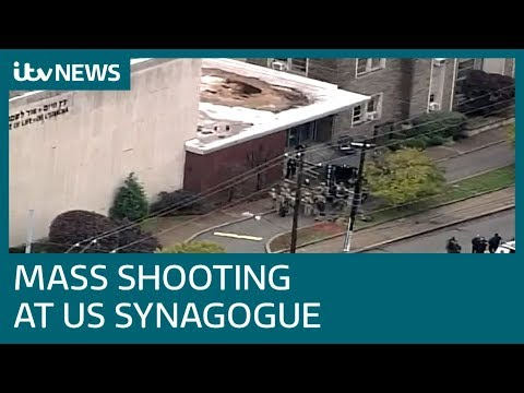 At least 11 dead following shooting at US synagogue | ITV News