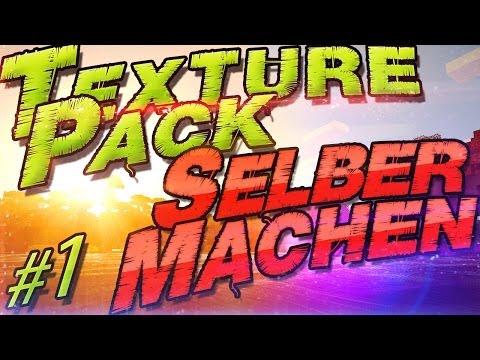 Minecraft Texture Pack Selber Machen [#1] Minecraft 1.8.1 ❀ German Deutsch ❀ Mac + Windows