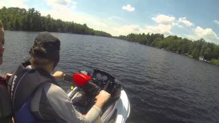 4. Sea Doo Wake Pro 215 HP--man this thing is fast!