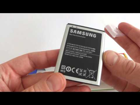 Samsung Galaxy Nexus - unboxing