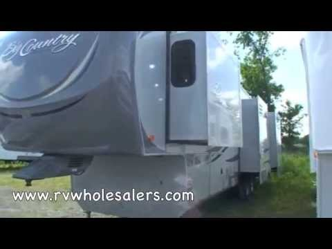 2011 Big Country 3500RL Fifth Wheel Camper at RVWholesalers.com 219770 - Pebble