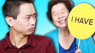 "Asian Parents Play ""Never Have I Ever"" With Their Kids"