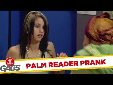 Palm Reader Face Palm Slap Prank