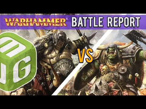Ogre Kingdoms vs Orcs and Goblins Warhammer Fantasy Battle Report Ep 15