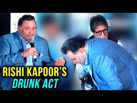 Rishi Kapoor ENACTS Amitabh Bachchan's DRUNK ACT F