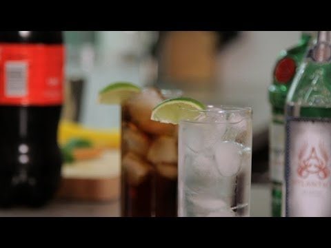 how to - Watch more How to Make Cocktails videos: http://www.howcast.com/videos/510371-How-to-Make-a-Caipirinha-Cocktail-Recipes Learn how to make a highball, such as...