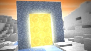 MINECRAFT PORTAL TO AN ICE DIMENSION! (5 Minecraft Things)