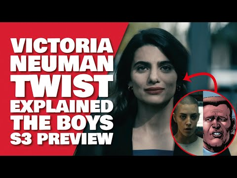 THE BOYS SEASON 3 Victoria Neuman Explained | How She Got Her Powers & Comic Differences Explained