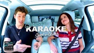 Video Shawn Mendes and Selena Gomez Carpool Karaoke MP3, 3GP, MP4, WEBM, AVI, FLV Juni 2018