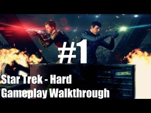 Star Trek – Gameplay Walkthrough – Hard – Part 1 – To Boldly Go