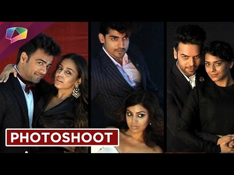 Popular TV celebs shoot for Harper's Bazaar Bride