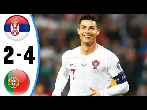 Portugal vs Serbia 4-2 ○ Highlights and goals ● Uefa euro Qualifiers ○ (8/9/2019)