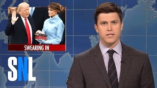 Video Weekend Update: Donald Trump Swears-In - SNL MP3, 3GP, MP4, WEBM, AVI, FLV September 2018