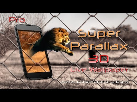Video of Super Parallax 3D Free LWP