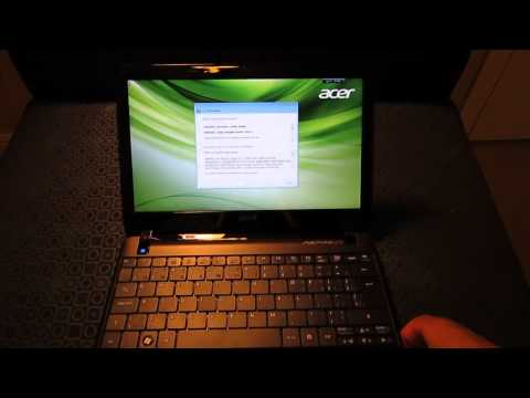 Acer Aspire One 722 Netbook (First Impressions)