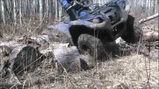 5. Breaking in the 2012 Yamaha Grizzly 700, day 2