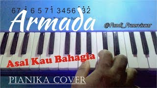 Video Armada - asal kau bahagia (pianika cover) MP3, 3GP, MP4, WEBM, AVI, FLV Oktober 2018