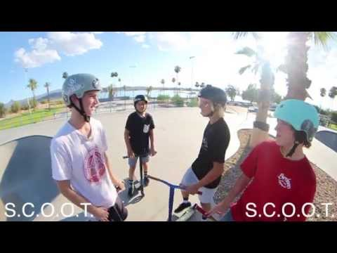 Game of Scoot in Havasu Jacob Macdonald Matty Powers vs. Tristan Anderman Wyatt Anderson
