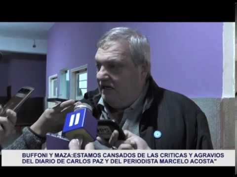 DECLARACIONES DEL SECRETARIO MAZA: EL GOBIERNO DE BUFFONI Y LAS CRITICAS A LA PRENSA