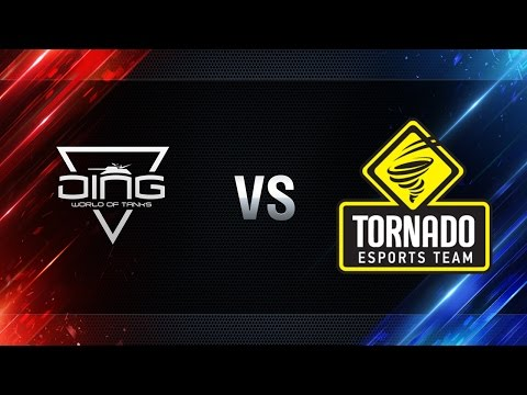 DiNG против TORNADO Energy - Битва Чемпионов в Москве WGL 2016/17