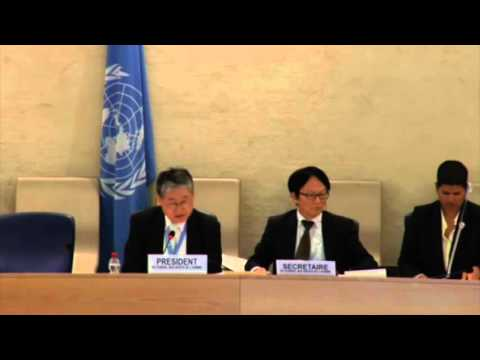 UN 'Rights' Council Prez criticizes Bayefsky for pointing to UN-driven antisemitism. March 21, 2016