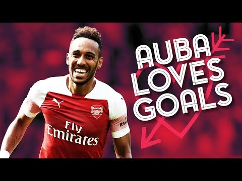 All 10 Of Aubameyang's Goals So Far This Season | 2018/19
