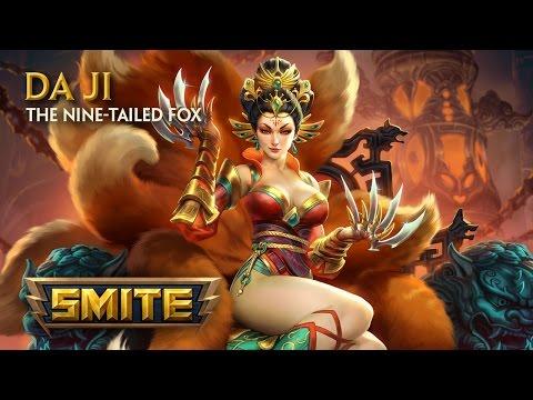 SMITE - God Reveal - Da Ji, The Nine-Tailed Fox