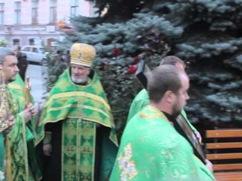 Зустріч ікони з мощами св. Меркурія Бригинського