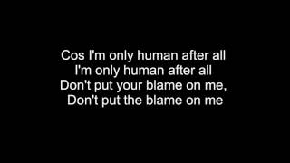 Rag'n'Bone Man - Human Lyrics