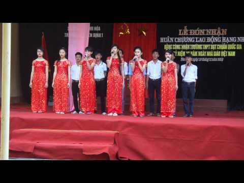 Nhớ mái trường Yên Định 1