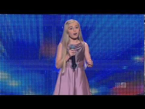 Paris Morgan – Schoolgirl – Australia's Got Talent 2013 – Audition [FULL]