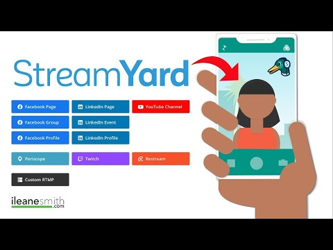 Watch 'How to Live Stream from Your Phone with Streamyard'
