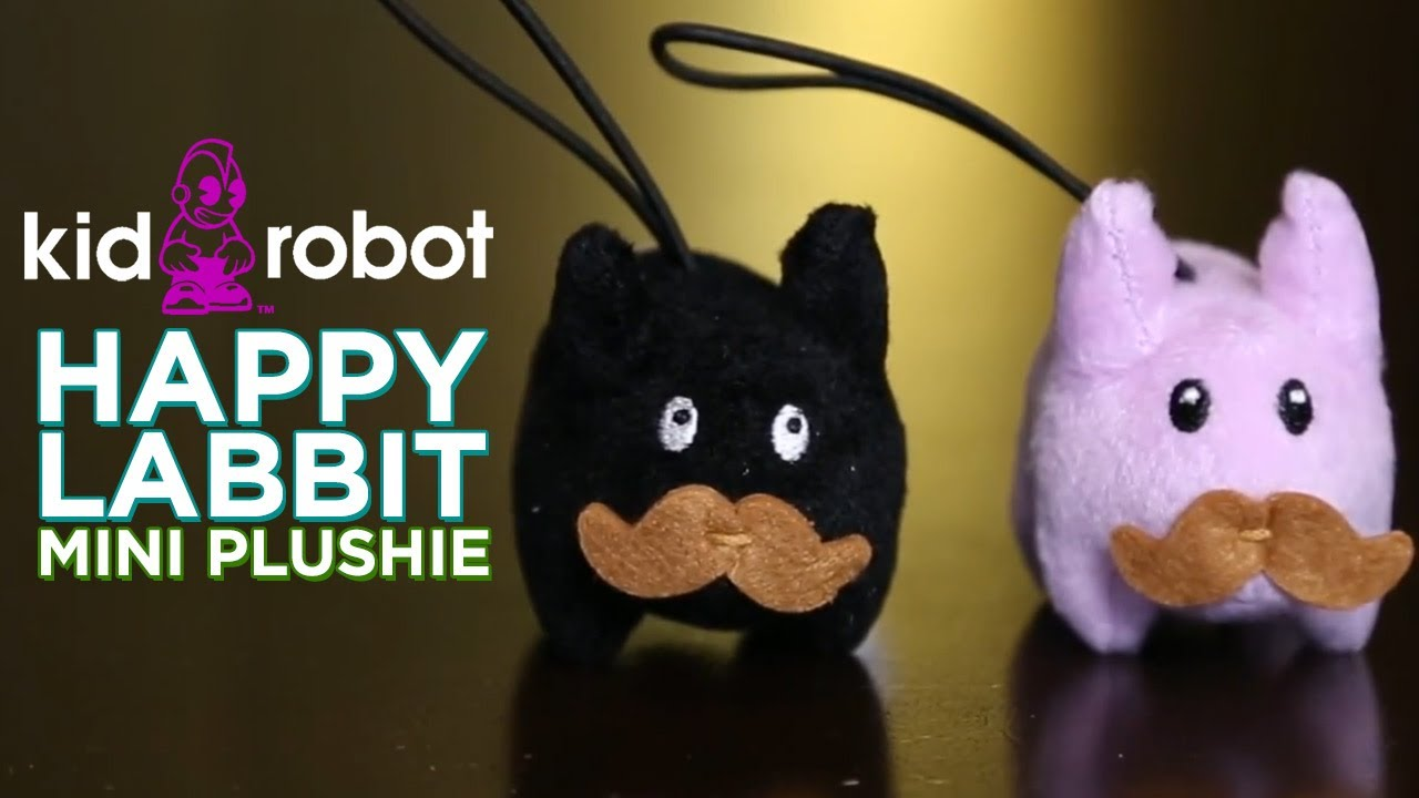 Happy Labbit Mini Plushie