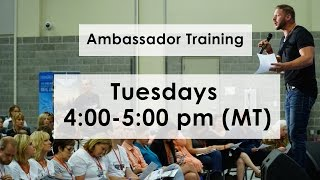 March 28 – Ambassador Training