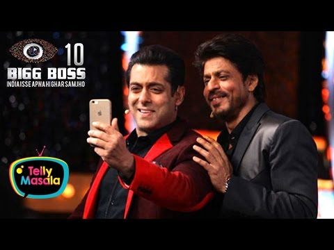 Shahrukh Khan Inside Bigg Boss 10 House With Salma