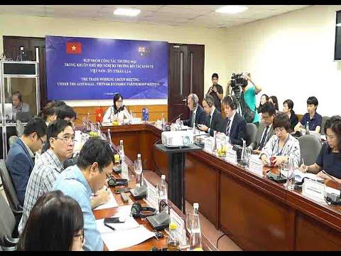 Họp nhóm công tác thương mại trong khuôn khổ Hội nghị Bộ trưởng đối tác kinh tế Việt Nam – Úc