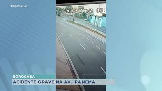 Sorocaba: motorista que provocou acidente estava com CNH vencida