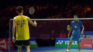 Video [HD] Final - MS - LEE Chong Wei vs CHEN Long - 2014 Yonex All England Open MP3, 3GP, MP4, WEBM, AVI, FLV November 2018