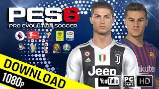 8. PES6 | Pro Team Patch 2019 Mini Patch 160 mb | Download & Install