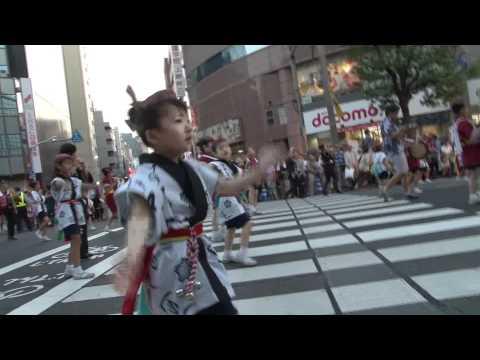 2011「うえの夏まつり」東京さんさ黒門小学校