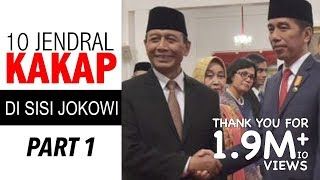 Video JOKOWI 10 JENDRAL KAKAP DI SISI JOKOWI PART 1 MP3, 3GP, MP4, WEBM, AVI, FLV April 2019