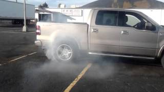 Ford F-150 Burnout Denver