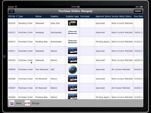 MEX iPad Application
