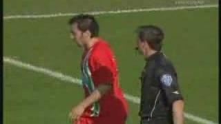 Alessandro Del Piero stellt Schwalbe nach