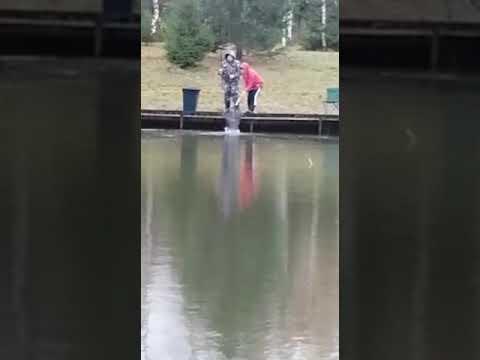 Видеоотчет о рыбалке за 17 октября 2021 г.