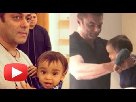 WATCH Salman Khan's Nephew Ahil Sharma CUTE PIANO