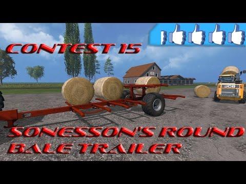 Sonesson's Round Bale Trailer