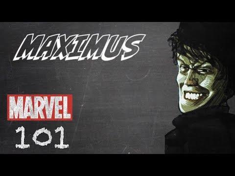 Maximus -- Marvel 101 (видео)